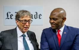 Elumelu, Bill Gates Discuss Global Philanthropy Role on Business, Politics, Culture in Paris