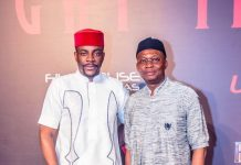 TV personality Ebuka Obi-Uchendu and GMD/CEO, UBA Plc, Kennedy Uzoka